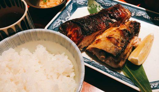 麻布十番の絶品焼き魚。「たき下」の寒さば塩焼き。