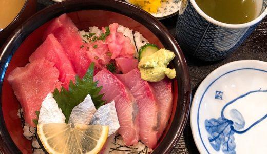 ランチの三色丼が絶品。西麻布の「魚幸 幸鮨」