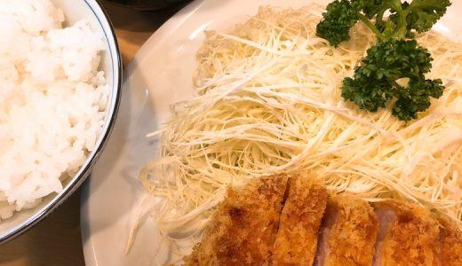 とんかつの名店「とんかつ燕楽」のロースカツ定食