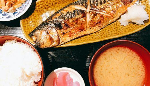 六本木の居酒屋で焼き魚定食「大衆酒場 天城」