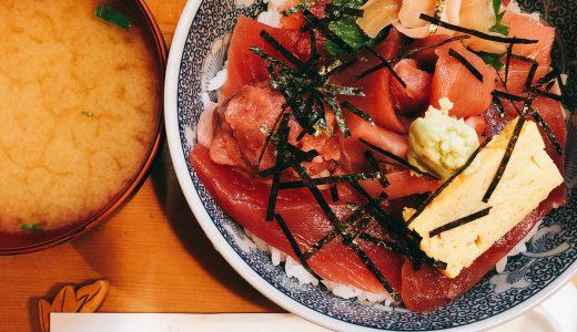 赤坂の最強、絶品、鉄火丼「割烹 和知」