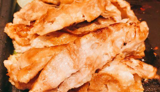 各種メディアで取り上げられたという豚焼き肉「とん豚デジ」