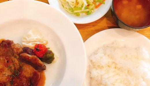 六本木で人気の洋食店「キッチンれん」のポークソテー