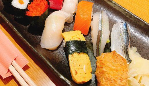 裏返したお稲荷さんが有名な「おつな寿司」のランチ