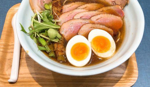 神田エリアで一番点数が高いラーメン店は評判通りでした「麺巧 潮」