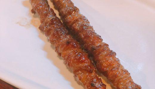 皮串が絶品。博多焼き鳥、モツ鍋のお店「六本木 五太夫」