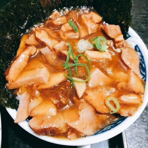 赤のれん_あんかけ叉焼丼