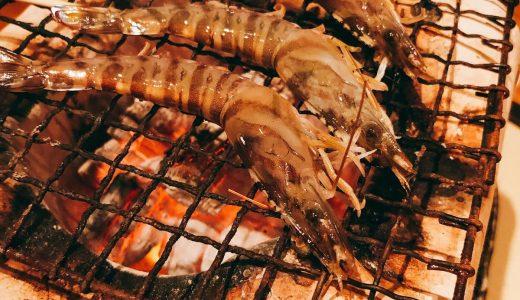 海鮮と活えびの炭火焼きが美味しいお店「さくら 鳥居坂」