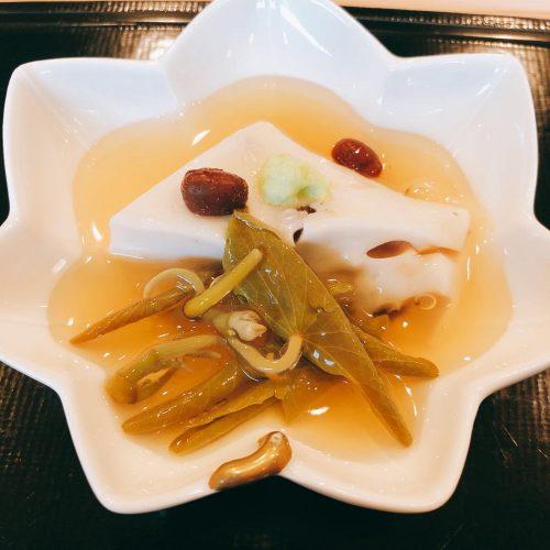 よし澤_水無月豆腐