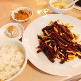 チャイナ三丁目_牛肉とマコモダケ
