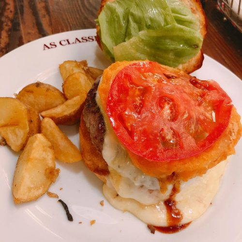 asclassicsdiner_チーズアバランチバーガー