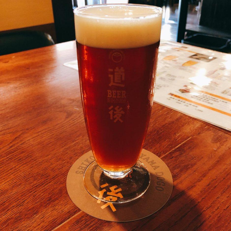 道後麦酒館_ビール