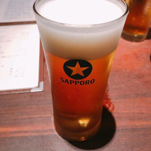 豚組_ビール