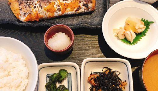 """麻布十番の魚が美味しい定食屋「魚可津」で""""さわらの味噌漬け焼き定食"""""""