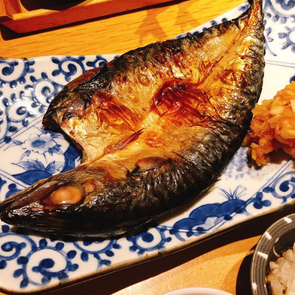 いなきあ_関鯖塩焼き定食