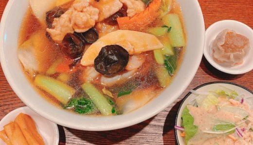 五目あんかけそばが美味しい、六本木外れにある新しい中華料理屋「鈴華荘」
