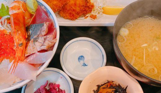 小田原、早川漁港にある漁師の朝ごはん「漁師めし食堂」