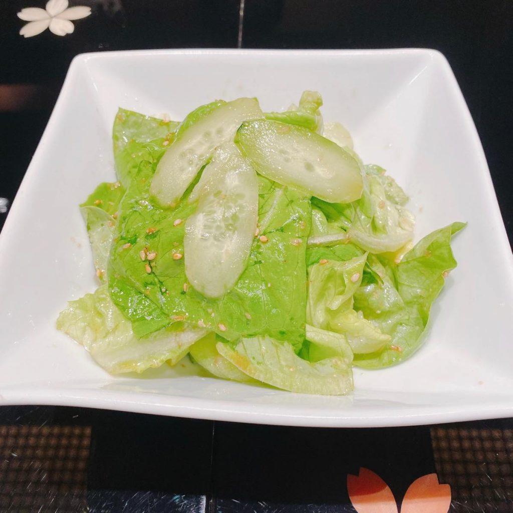 游玄亭_サラダ