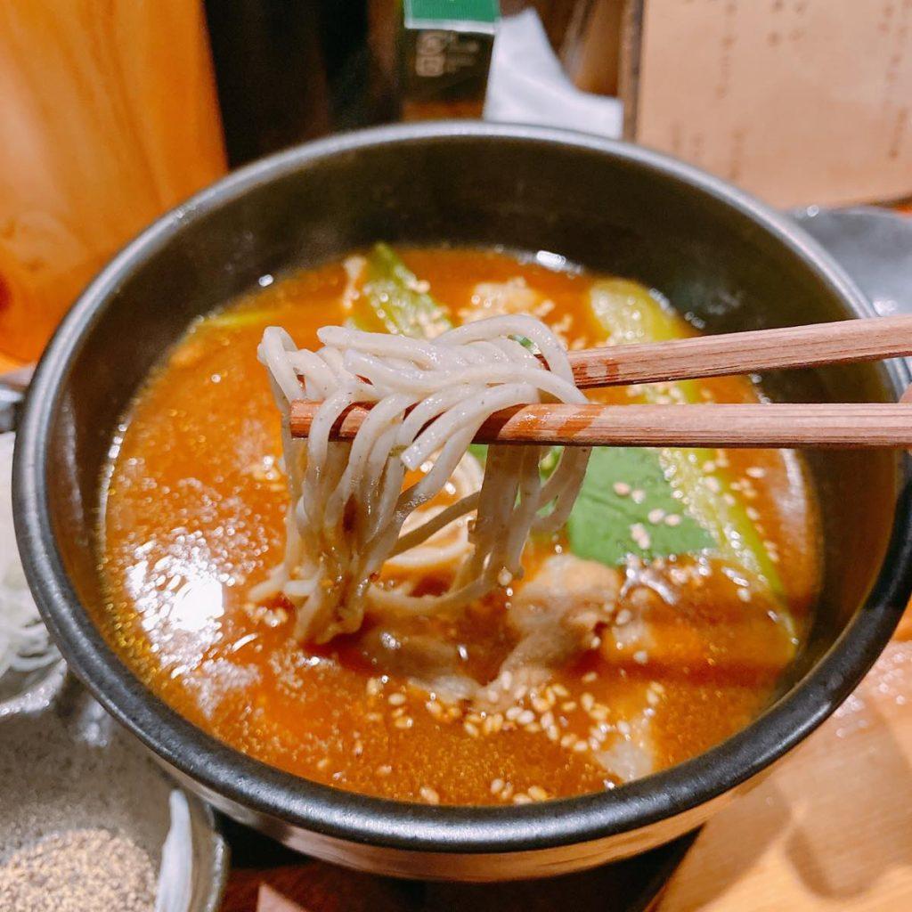 角ヤ_カレー蕎麦