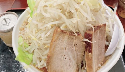 横浜「甍」のてっぺんラーメンはチョモランマのような野菜盛りがオススメ