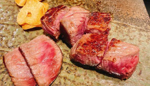 神戸牛の鉄板焼を六本木で「ビフテキのカワムラ」