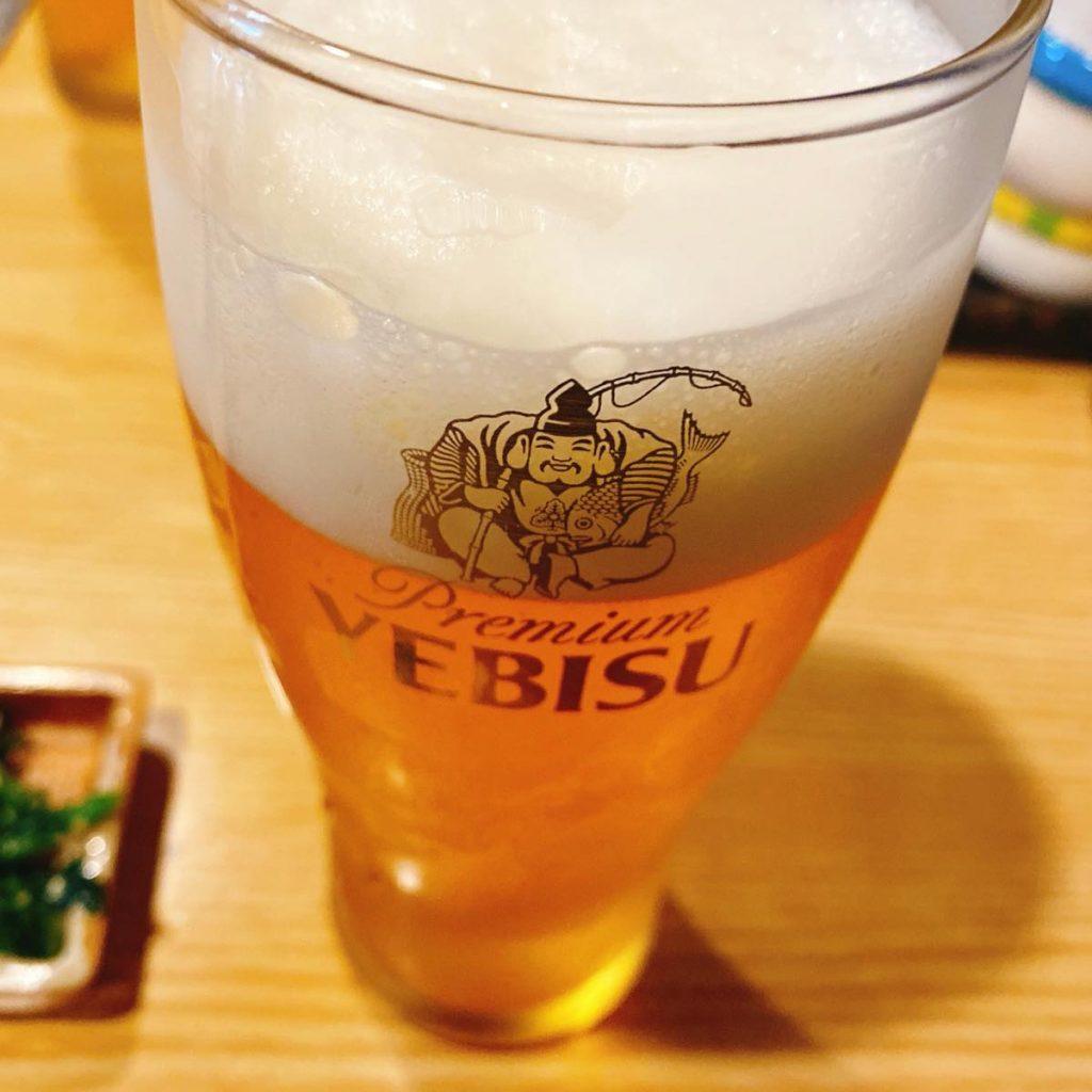 こま_ビール