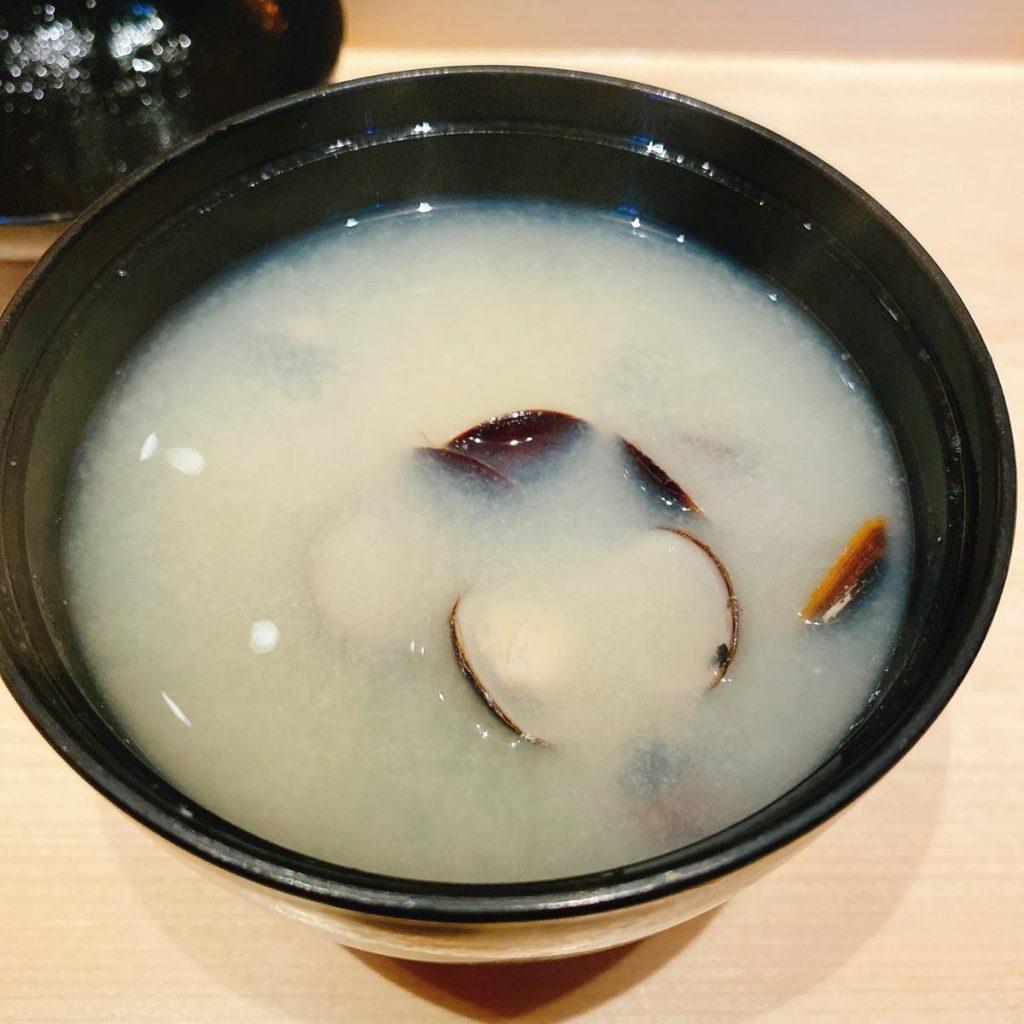 sushitokyoten_蜆の味噌汁