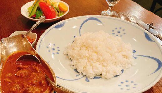 """Grill Manten-hoshi Azabu Juban"", a long-established Western-style curry shop in Azabu Juban"