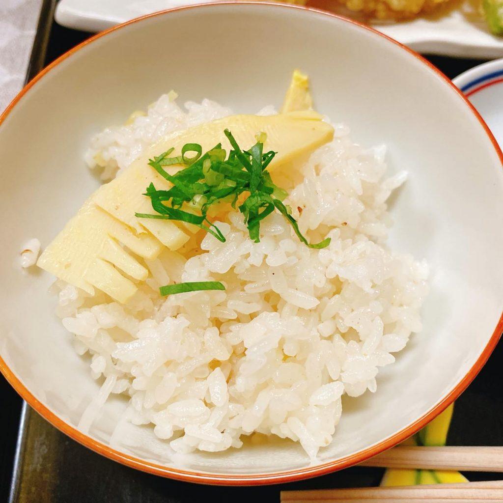 い津み_天麩羅定食