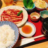 まんぷく_カルビ焼肉定食