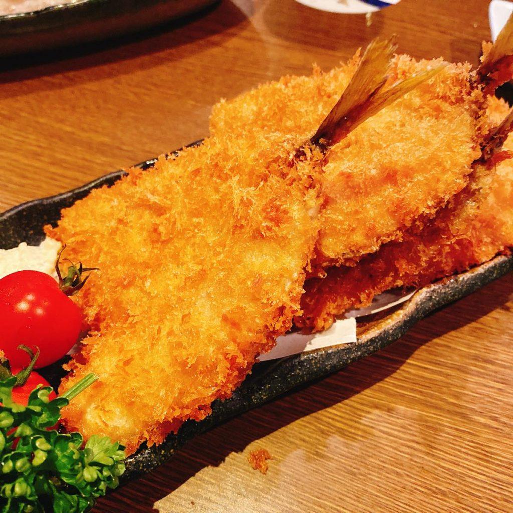 魚可津_アジフライ