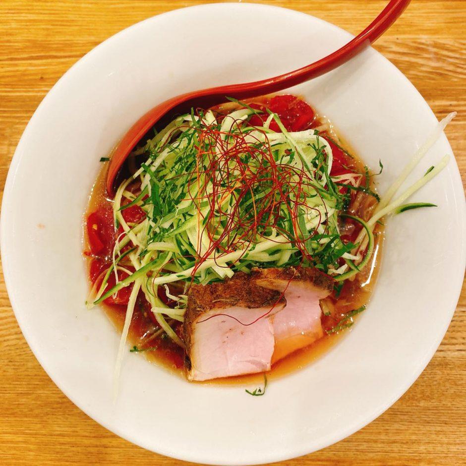 麺や七彩_冷やし中華