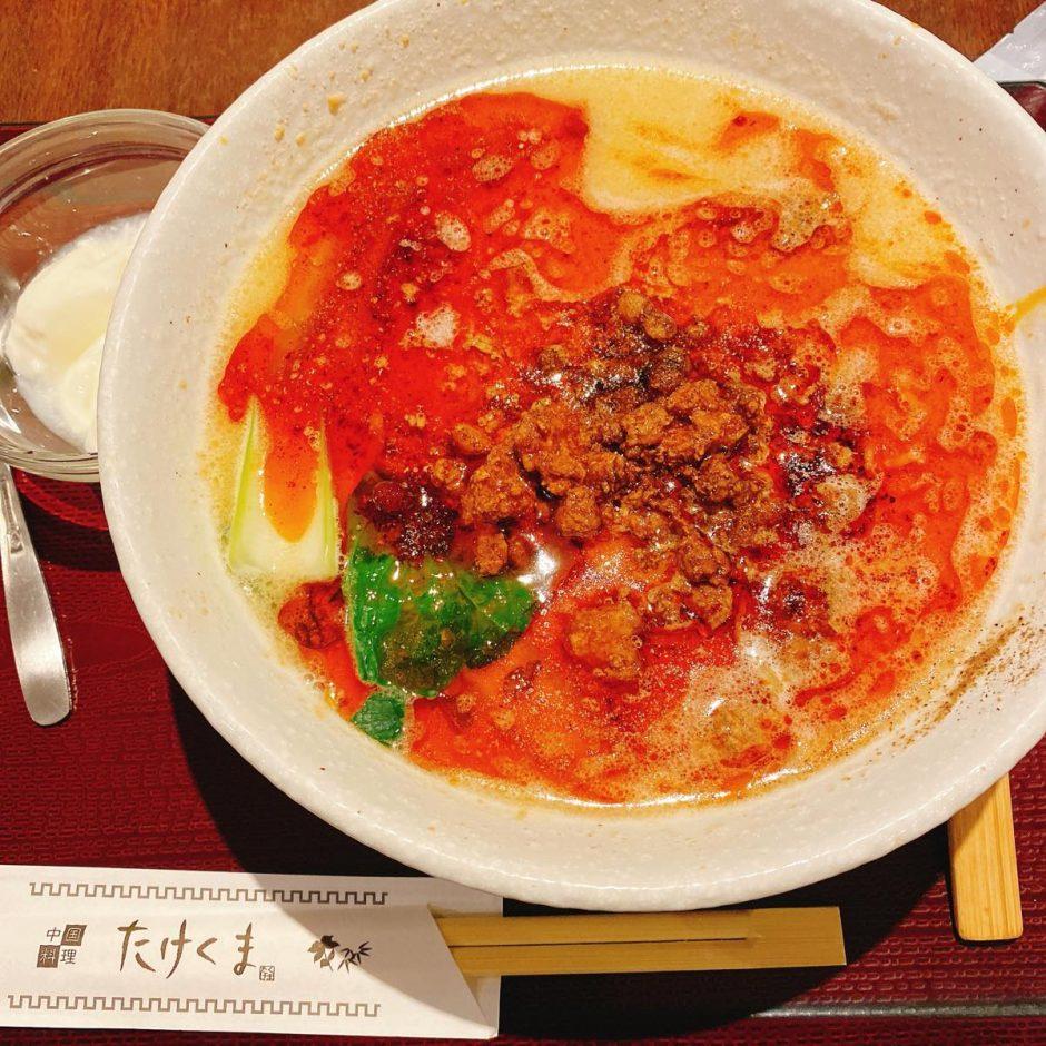 たけくま_担々麺