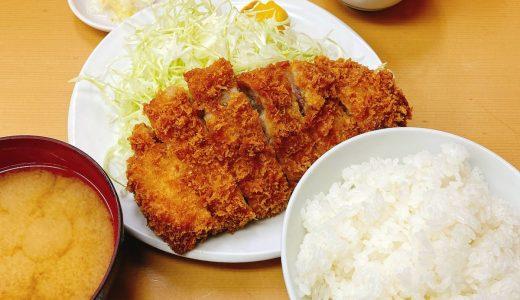 上野、安くて美味しく量もある「とんかつ山家」