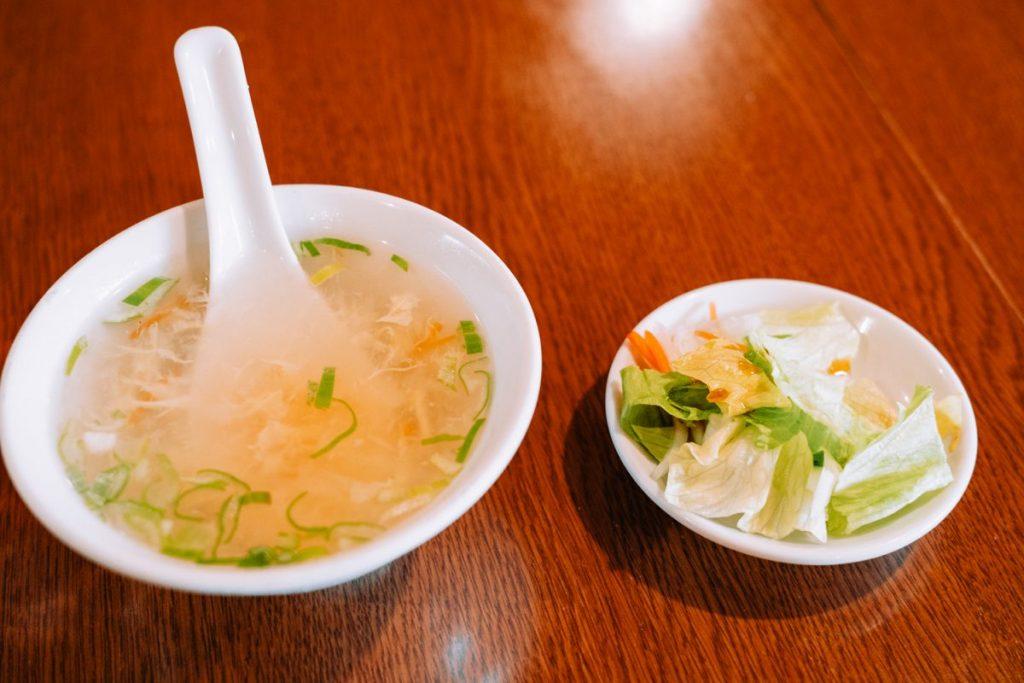 萬盛園_スープ