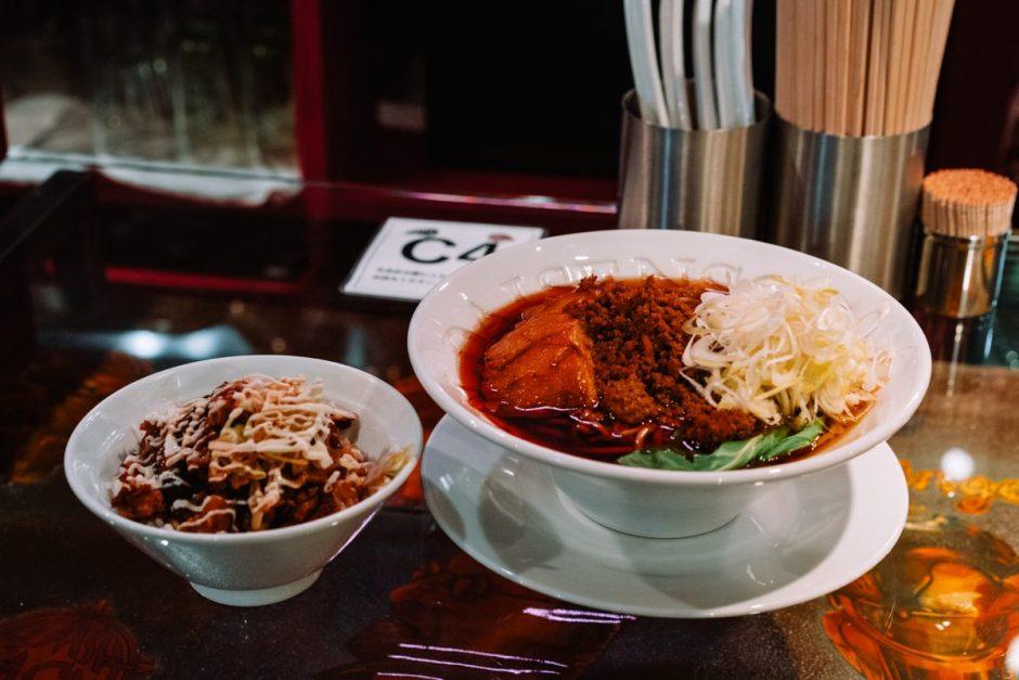 人類みな麺類red_担々麺