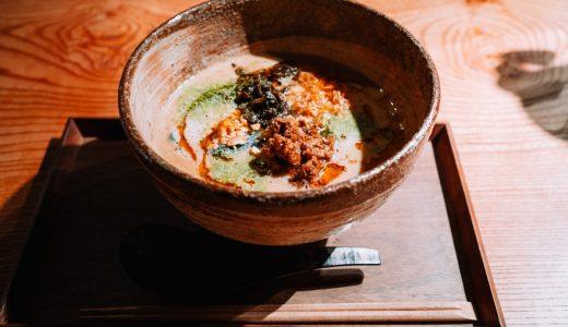 赤坂にまたひとつ担々麺「Redsix」の個性派担々麺