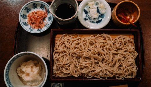 荻窪にある石臼手打ち蕎麦の「高はし」