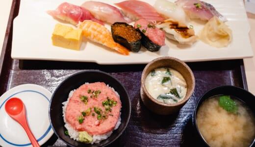 赤坂「魚河岸日本一」でランチ寿司