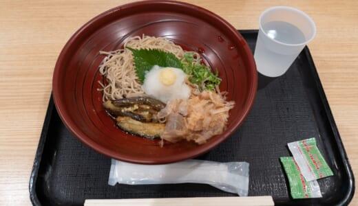 出発前羽田空港「ANAFESTA」でおろし蕎麦